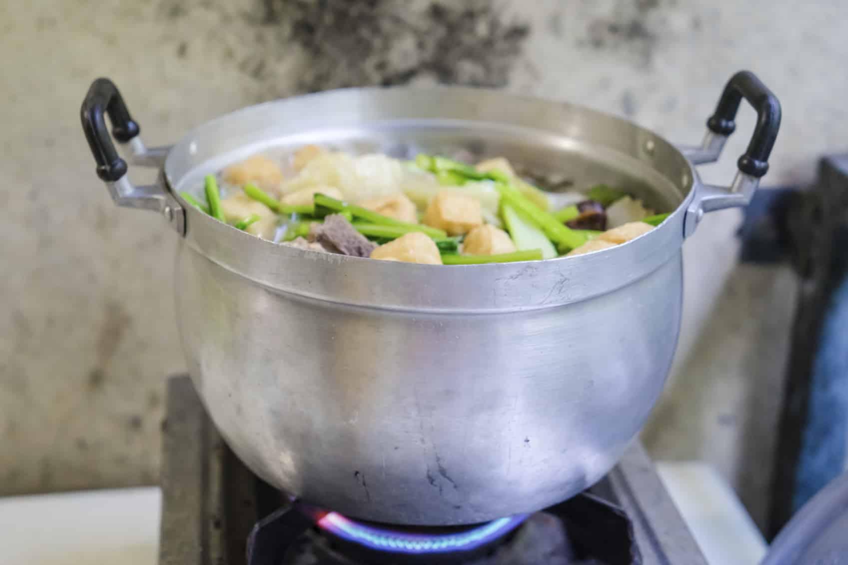 Pourquoi ne pas fouetter la soupe?