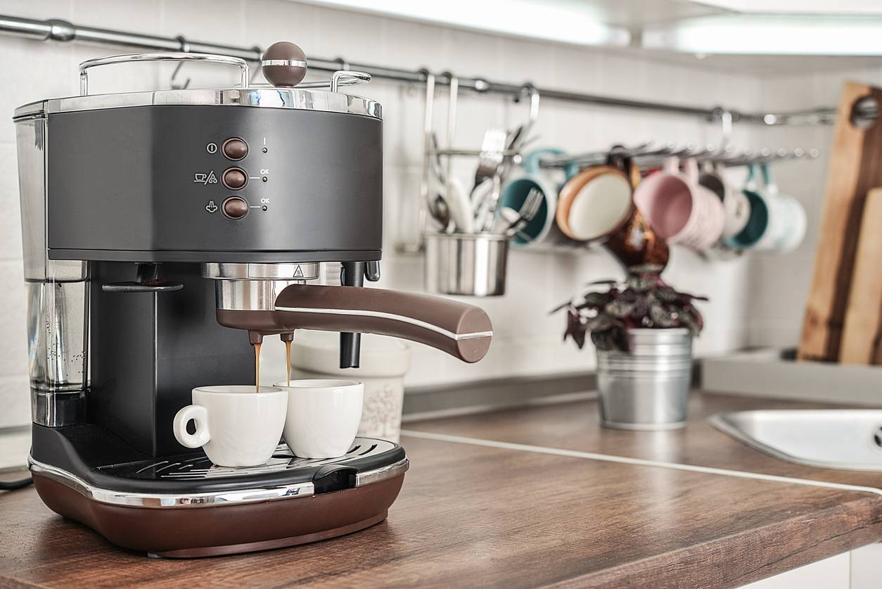 cafetière café moulu